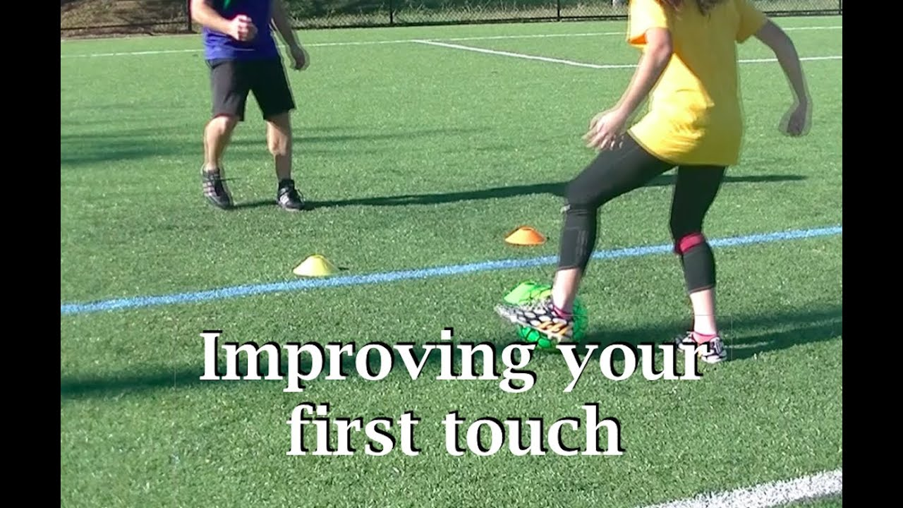 Soccer First Touch Practice - YouTube