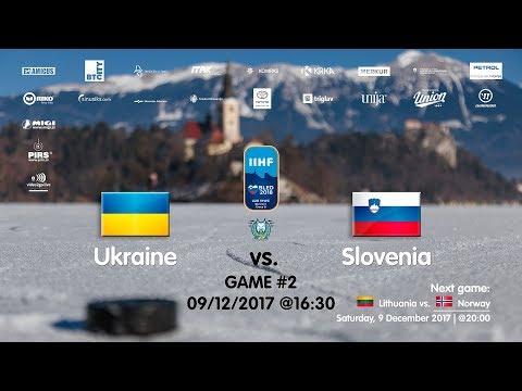 Ukraine - Slovenia #IIHFWJC1B #Bled