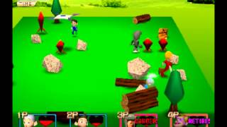 Vagales gameplay PS1: Poy Poy