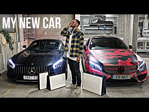 23 YEAR OLD BUYS BRAND NEW 2018 AMG GTS AND GUCCI SHOPPING SPREE!