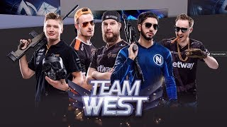 Европа против Востока CS:GO (RU)ШОУ МАТЧ 2018