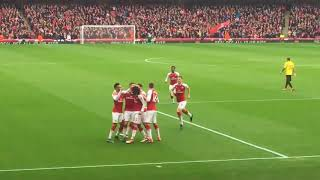 Shkodran Mustafi Goal - Arsenal vs Watford 1-0 - EPL / 11 March 2018