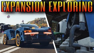 LEGO Customization, Barn Find & Visual Damage | Forza Horizon 4 LEGO Expansion
