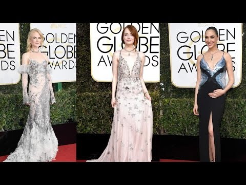 Thumbnail: 10 Best Dressed Celebrities on Golden Globes Red Carpet 2017 || Pastimers