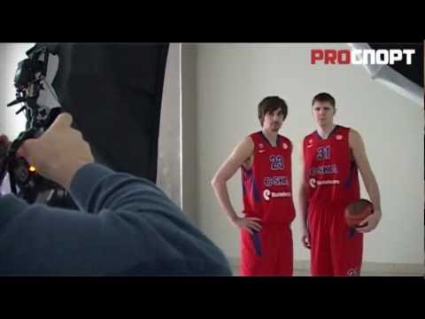 Alexey Shved and Victor Khryapa photoshot for ProSport
