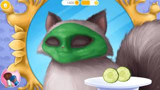 Cat Hair Salon Birthday Party   Play Kitty Haircut Care   Makeover Games For Girls