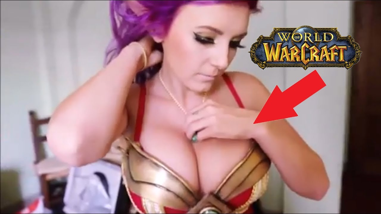 10 SEXIEST World Of Warcraft Players EVER - YouTube