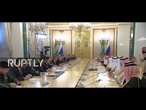 LIVE: Russia and Saudi Arabia set for negotiations ahead of signing of bilateral agreements