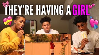 a girl?🤔 THE OFFICIAL GENDER REVEAL OF QUEEN AND CLARENCE REACTION | MCDONALDS MUKBANG🍟