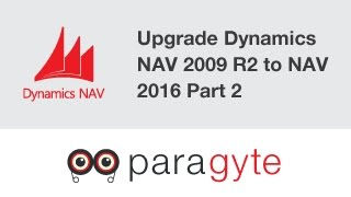 Dynamics NAV Upgrading Dynamics Nav 2009 R2 Version to Dynamics Nav 2016 Version   Part 2