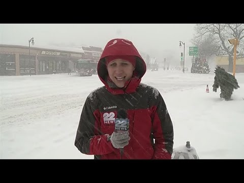 22News Storm Team Coverage at The X in Springfield