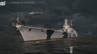 World of Warships - Hayate, Siegfried, Ark Royal, Thunderer & Friesland