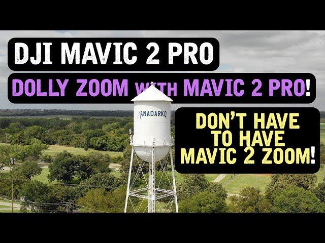 DJI Mavic 2 Pro / DOLLY ZOOM on Mavic 2 Pro!