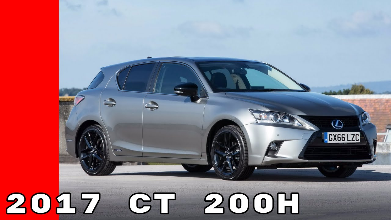 2017 Lexus Ct 200h Uk Spec