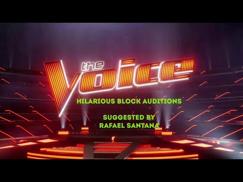 REMARKABLE BLOCK AUDITIONS IN THE VOICE  THE VOICE MASTERPIECE