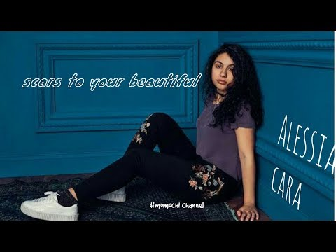 Durasi 1 Menit LAGU BARAT Nya ALESSIA CARA - Scars To Your Beautiful .[lirik Video]