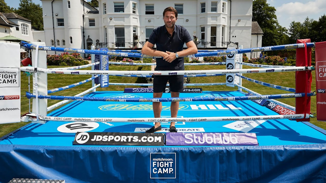 Eddie Hearn unveils Matchroom Fight Camp line-up - YouTube