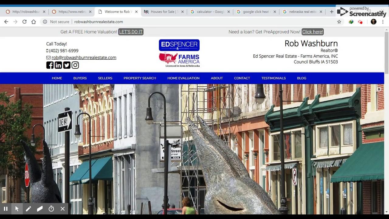 Rob Washburn Real estate video audit