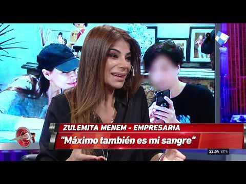 Zulemita Menem en Intratables: