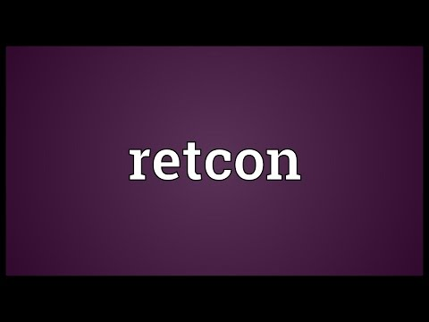 Retcon Meaning