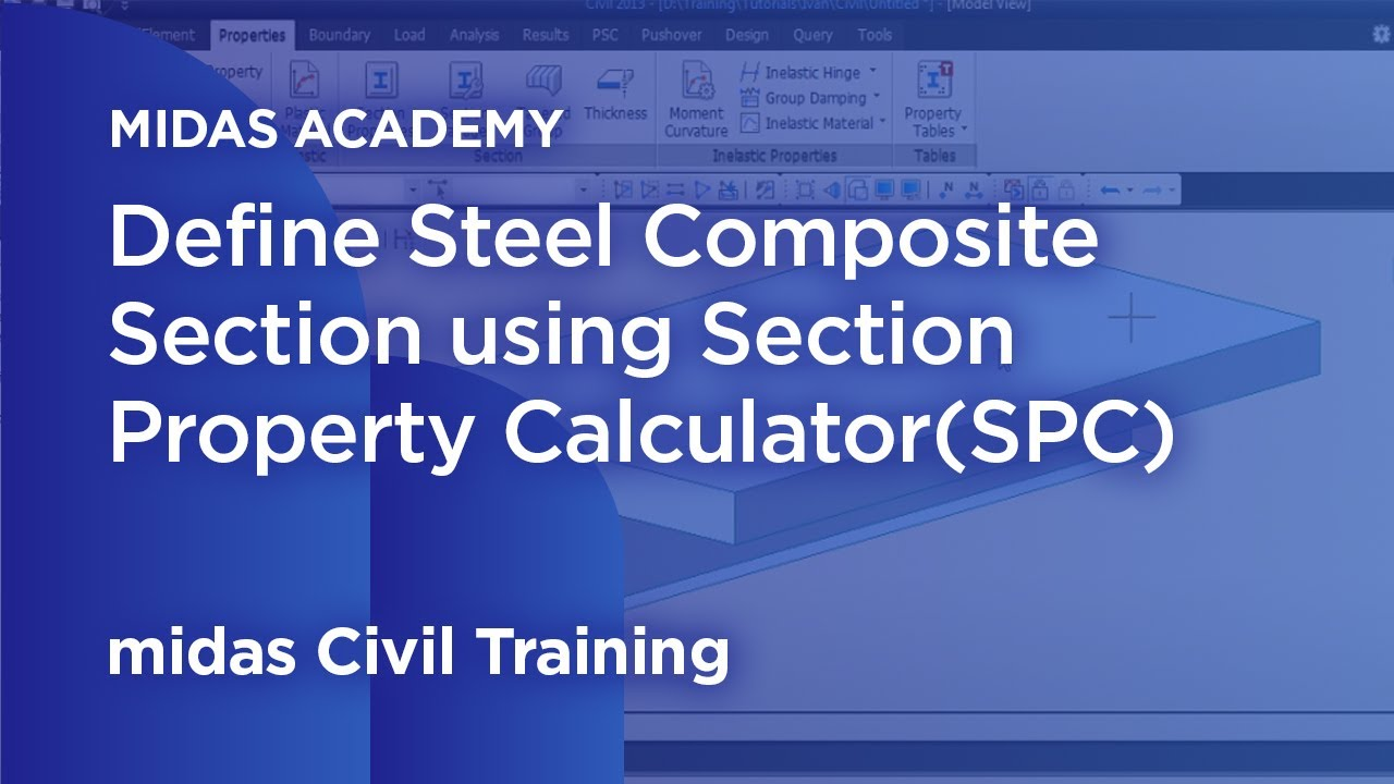 Usage of Composite Sections - Section Property Calculator Tutorial
