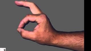 Auto-rééducation de la main droite