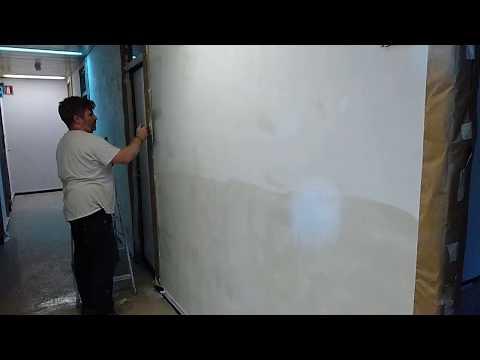 Come rasare pareti buzzpls com - Intonacare muro esterno ...