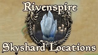 ESO: Rivenspire All Skyshard Locations (updated for Tamriel Unlimited)