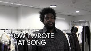 How I Wrote That Song: Questlove