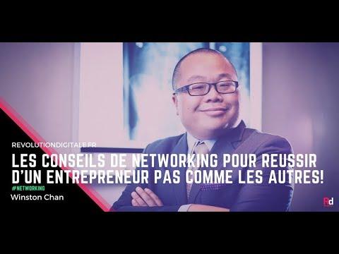 14. Winston Chan: Les conseils de networking pour réussir d'un entrepreneur pas comme les autre