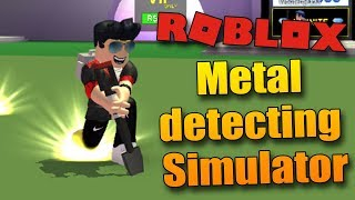 NOVEJ SUPROVEJ SIMULÁTOR? | ROBLOX: Metal Detecting Simulator
