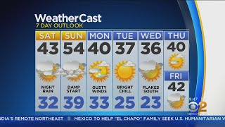 New York Weather: CBS2 2/23 Weekend Forecast at 9AM