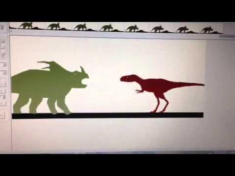 Styracosaurus vs alectrosaurus