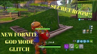 Fortnite Glitches: *NEW* FULLY UNDER THE MAP WALLBREACH GOD MODE GLITCH UNDER TOMATO TEMPLE/GOD MODE
