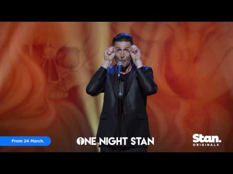 #OneNightStan Fire at Wil by Wil Anderson - March 24. Only on Stan. (30s)