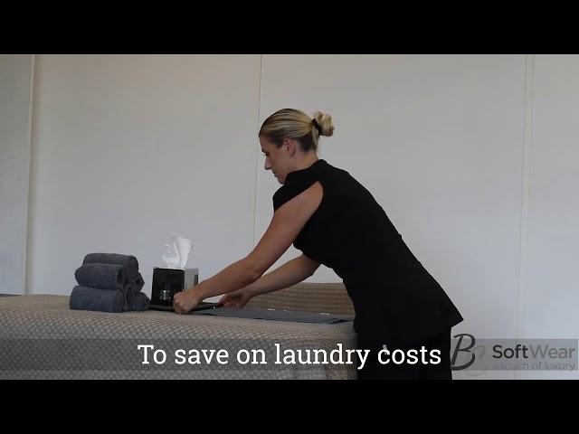 Comfy manicure, guest en kompres handdoeken