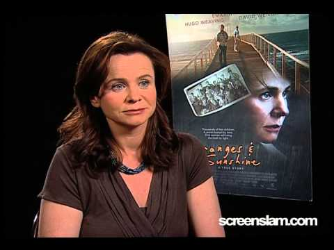Oranges and Sunshine: Emily Watson Interview