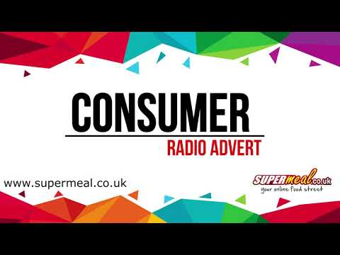 Supermeal.co.uk Radio Consumer Ad February 2018