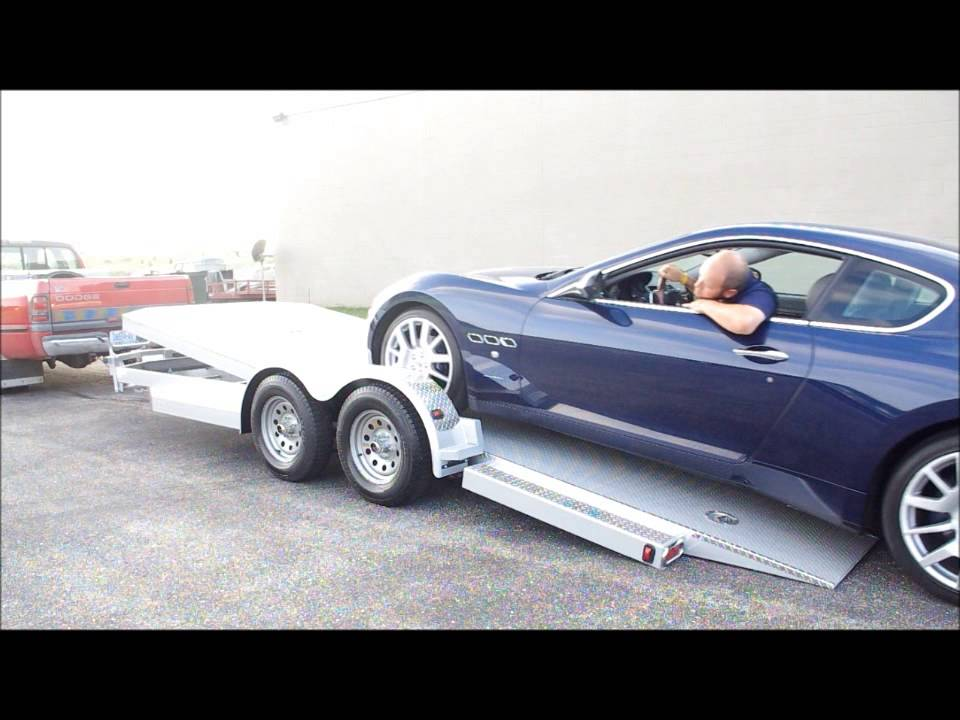 Car Guy Trailers Eliminator series Car Hauler - YouTube
