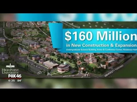 WJZY Fox 46 Carolinas in Charlotte: HPU to Begin $160 Million in New Construction