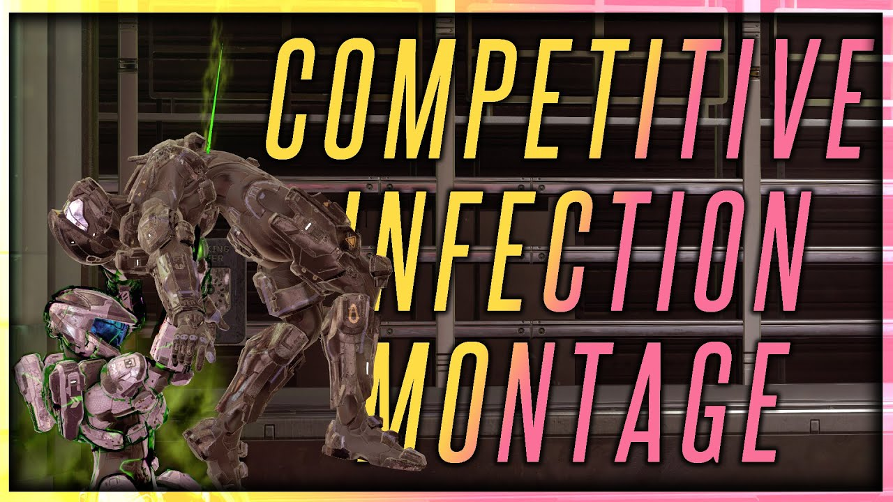 The Sweatiest Halo 5 Infection Clips EVER! - Halo 5 Infection Montage