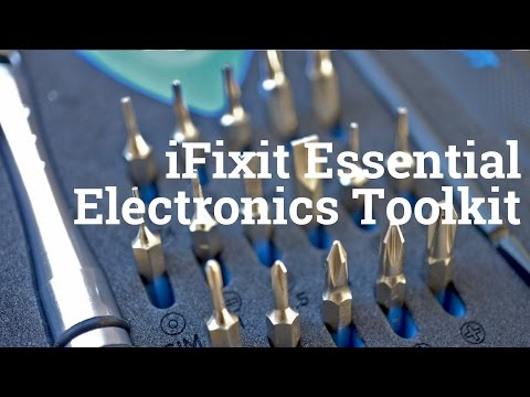 iFixit Essential Electronics Toolkit Unboxing