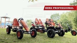 BERG Duo Chopper + BERG E-Pedal go-kart+ BERG E-Gran Tour pedal go-karts