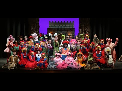 Shrek The Musical rehearsal at Gaston Day School