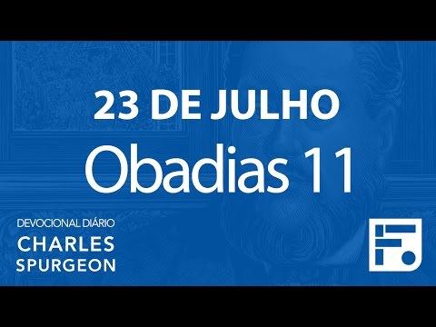 23 de julho – Devocional Diário CHARLES SPURGEON #205