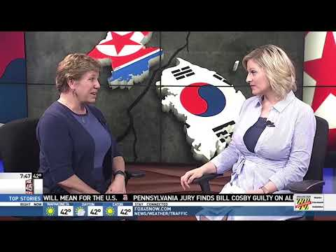 WRGT: Wright State professor discusses historic meeting between North and South Korea