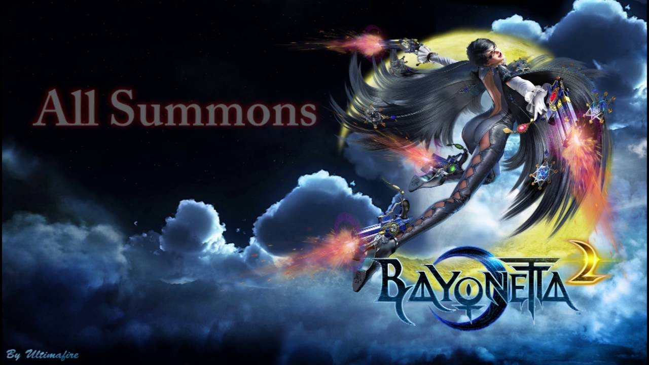 Bayonetta All Summons - YouTube