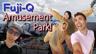 Fuji-Q: Awesome Amusement Park in Japan!!