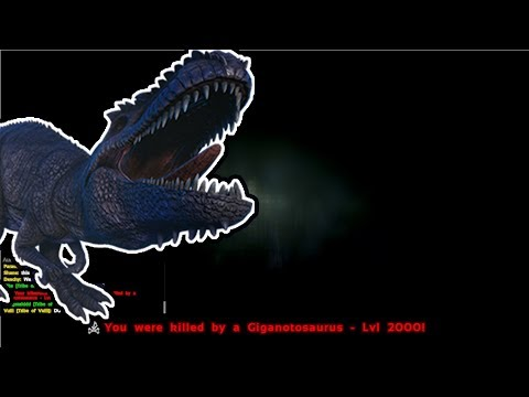 Angry Admin Spawns In Level 2000 Giga | ARK: Survival Evolved