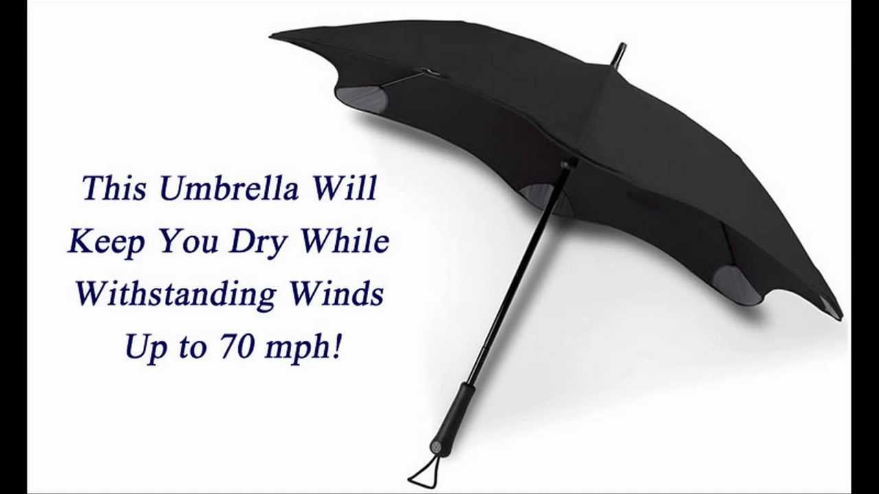 Wind Resistant Umbrella - Best Umbrella For Wind - YouTube